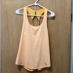 Under Armour yellow tank top | size M